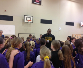 Pierre Henry Fontaine visits Thetford academy 2